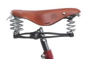 Sella della bicicletta Umberto Dei Milano, modello Giubileo uomo