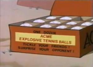 Palle da tennis esplosive
