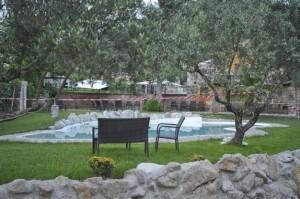 La piscina di San Salvatore Telesino dove è annegata Maria Ungureanu