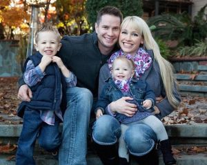 Keith, Sherri and their two children, Tyler and Violet